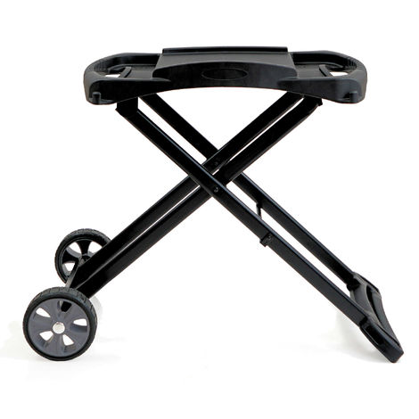 BBQ-Toro grill table for gas grill | foldable trolley for grill