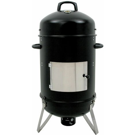 "BBQ-Toro ""Hickory"" smoking barrel , Ø 46 cm smoking oven, smoker barrel"