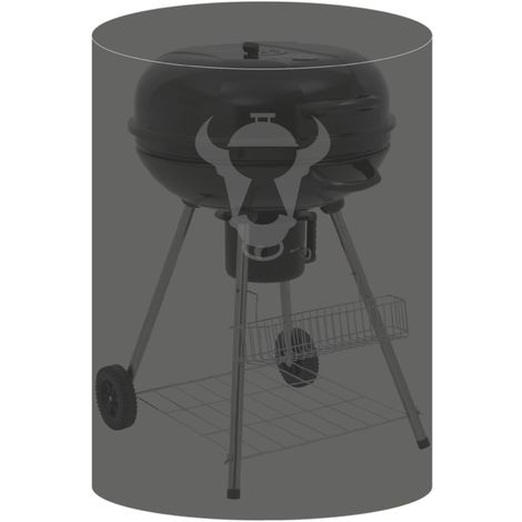 BBQ-Toro Housse de grille pour bouilloire, Ø 66 x (H) 66 cm, pour Weber 47-50 cm