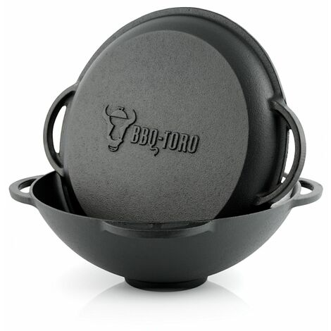 BBQ-Toro Kazan, Gusseisen Topf, 6,9 Liter