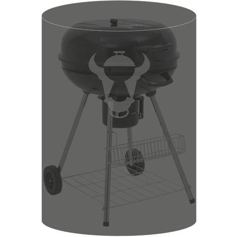 BBQ-TORO kettle grill cover, Ø 66 x (H) 66 cm, for Weber 47-50 cm