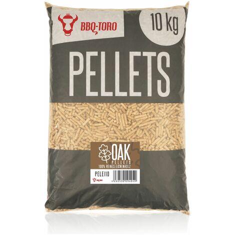BBQ-Toro Oak Pellets en bois de chêne 100%   10 kg   Pellets de chêne