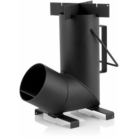 BBQ-Toro Raketenofen RAKETE #6, Rocket Stove aus 1,5-mm-dickem Stahl