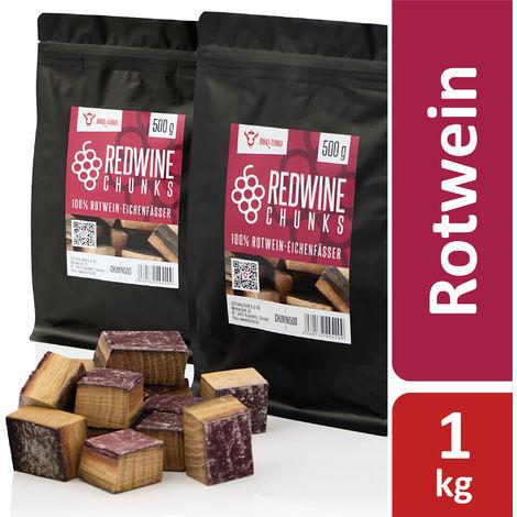 BBQ Toro Redwine Chunks | 1 kg | from 100% red wine oak barrels