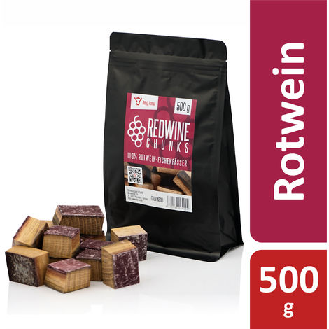 BBQ Toro Redwine Chunks | 500 g | from 100% red wine oak barrels