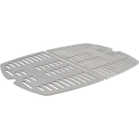 BBQ-TORO stainless steel grill grate set (2 pieces), suitable for Weber Q2000 series