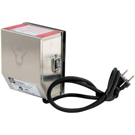 BBQ-TORO stainless steel motor for grill spit, rotisserie incl. holder