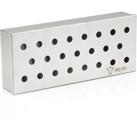 "BBQ-Toro stainless steel smoking box ""Apple"" | 22.5 x 9.5 x 4 cm | Smoker box"