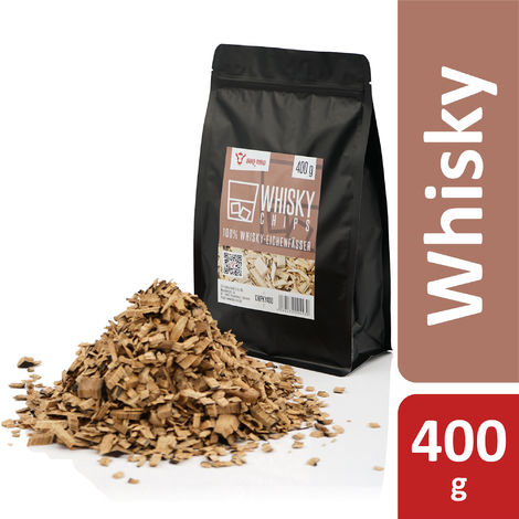 BBQ-Toro Whisky Smoker Chips Whisky smoke chips | 400 g | wood chips for smoking