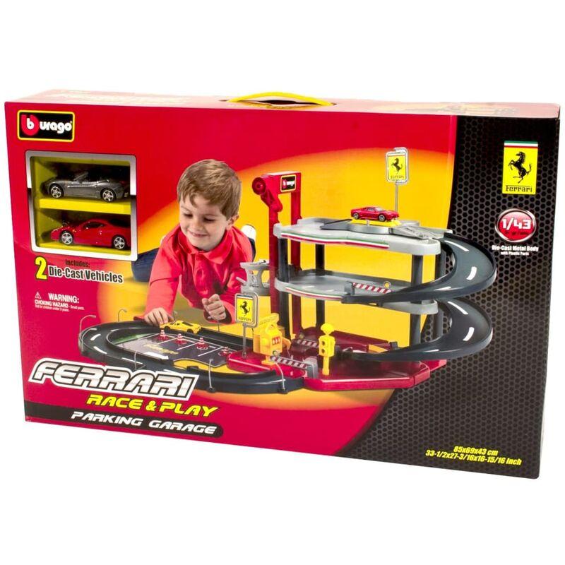 Image of Ferrari Toy Garage 1:43 - Multicolour - Bburago