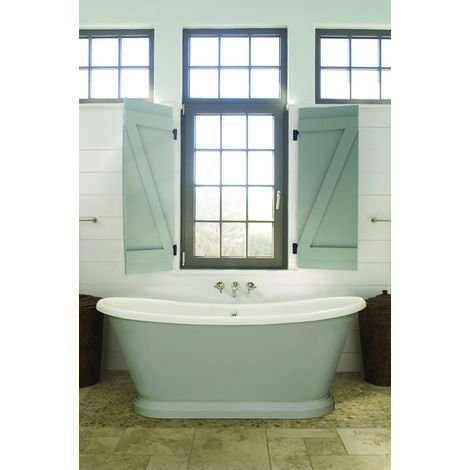 BC Designs Boat Acrylic Freestanding Bath 1580mm x 750mm
