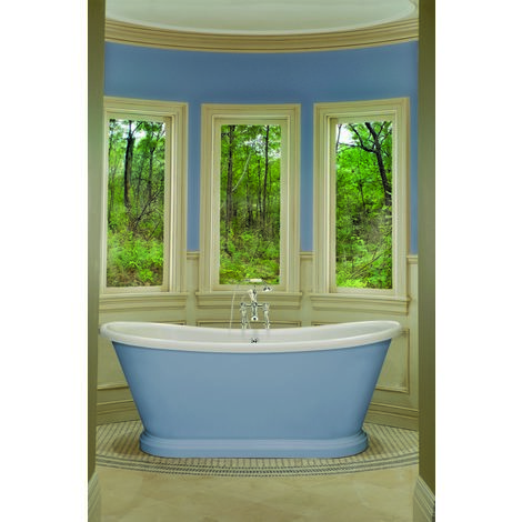 BC Designs Boat Acrylic Freestanding Bath 1700mm x 750mm