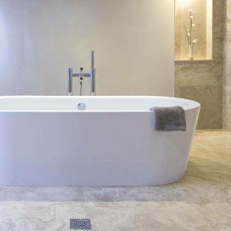 BC Designs Plazia Acrymite Acrylic Freestanding Bath 1780mm x 800mm