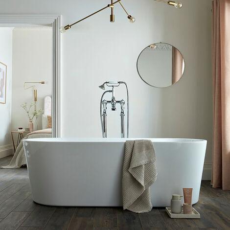 BC Designs Viado Acrymite Acrylic Freestanding Bath 1580mm x 740mm
