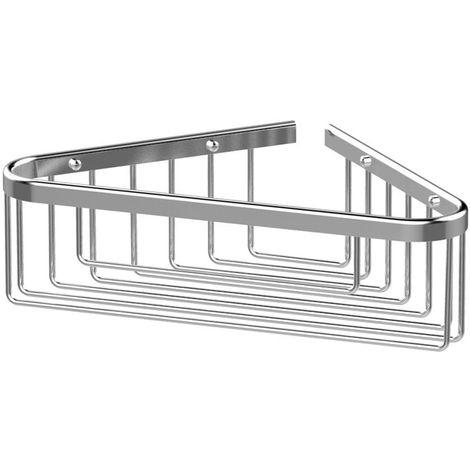 BC Designs Victrion Corner Shower Basket