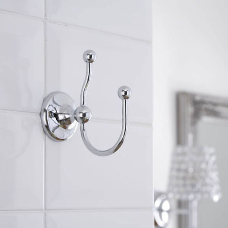 BC Designs Victrion Double Robe Hook