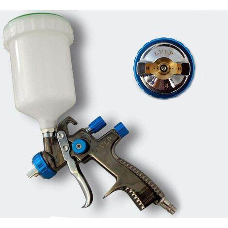 Bc Elec 34101 Pistolet à Peinture Lvlp Avec Buse De 1 4mm