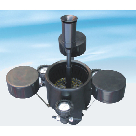 Bc-elec - 50106 Ecumeur Skimmer flottant bassin pompe intégrée 2500l/h