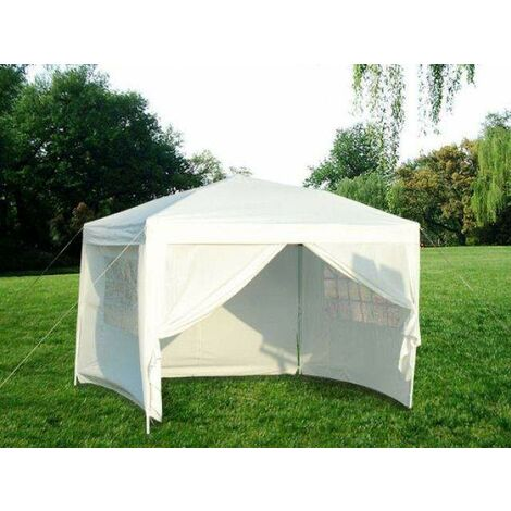 Bc-elec - 5300-0011 PARTYTENT PARTY TENT MARQUEE OUTDOOR GARDEN GAZEBO CANOPY 3x3 METERS WATERPROOF