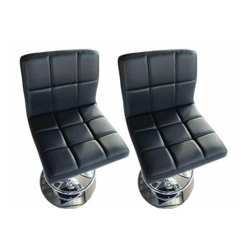 Bc elec 5550 3401 bl duo coppia di sgabelli alti sedie da bar