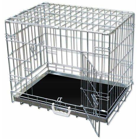Bc-elec - 5663-0144XL Jaula de transporte para perros y otros animales, tamaño XXL 107 * 70 * 77cm