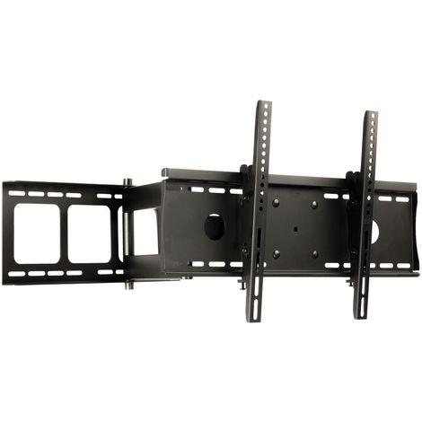 Staffa Porta Tv Girevole.Bc Elec 5734 D06 1 Supporto A Parete Girevole E Inclinabile Porta Tv Per Lcd Led Plasma 32 42 Fino A 60kg