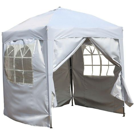 Bc-elec - 578-013 POPUP GAZEBO 2x2m PARTY TENT MARQUEE OUTDOOR GARDEN CANOPY WATERPROOF