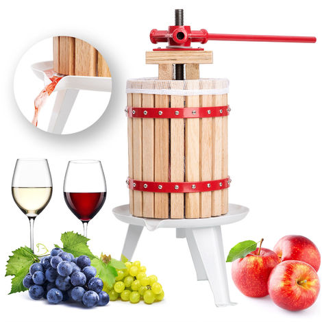 Bc-elec - 6L-FP 6L mechanical fruit and citrus juicer in oak wood