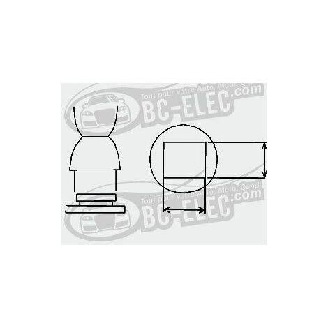 Bc-elec - 94141 Embout à air chaud BGA, carré 40mm*40mm