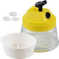 Bc-elec - AH-501 AIRBRUSH CLEANING POT 3 IN 1 - 500ML + ACCESSORIES!