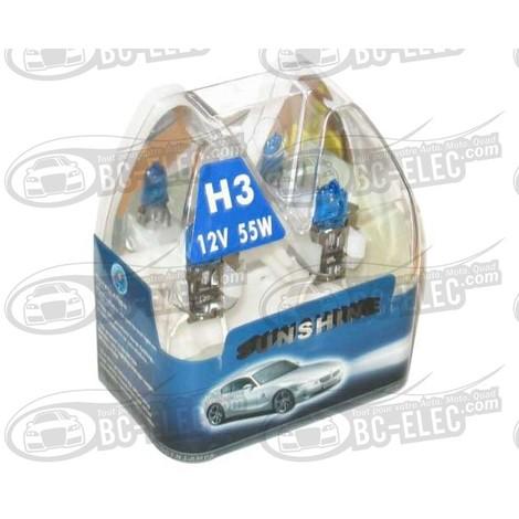 Bc-elec - AMP55H3 Ampoules H3 55W type Xenon 4000K