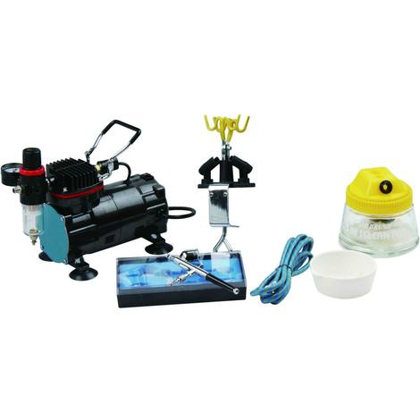 Bc-elec - AS-18KB AIRBRUSH PROFESSIONAL COMPLETE SET