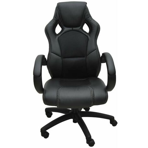 Bc-elec - bs11010-1 SPORTS RACING GAMING STYLE OFFICE COMPUTER LUXURY CHAIR PU LEATHER ADJUSTABLE
