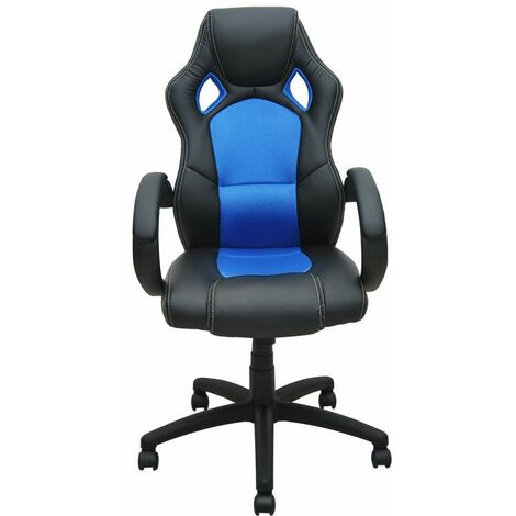 Bc-elec - bs11010-2 SPORTS RACING GAMING STYLE OFFICE COMPUTER LUXURY CHAIR PU LEATHER ADJUSTABLE