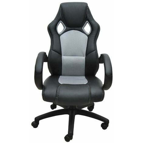 Bc-elec - bs11010-3 SPORTS RACING GAMING STYLE OFFICE COMPUTER LUXURY CHAIR PU LEATHER ADJUSTABLE