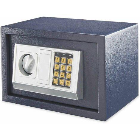 Bc-elec Coffre Fort serrure à combinaison digitale + clés 20x31x20 cm