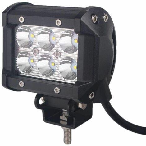 Bc-elec - F2-0018SPOT Feux Longue Portée LED pour 4x4 et SUV, 9-32V, 18W équivalent 180W SPOT