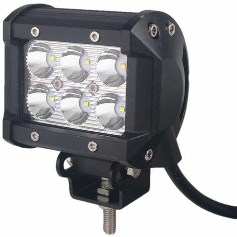 Bc-elec - F2-0018SPOT LED high beam work light 4x4 offroad light SPOT lens 9-32V, 18W equivalent to 180W