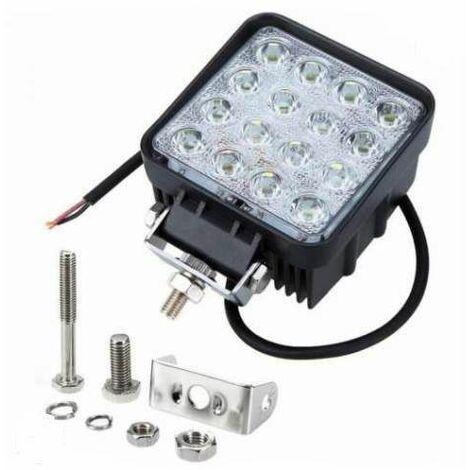 Bc-elec - F2-0027 Feux Longue Portée LED pour 4x4 et SUV, 9-32V, 48W équivalent 480W FLOOD