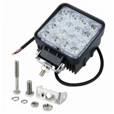 Bc-elec - F2-0027 LED Long Range Lights for 4x4 & SUV, 9-32V, 48W Equivalent 480W FLOOD