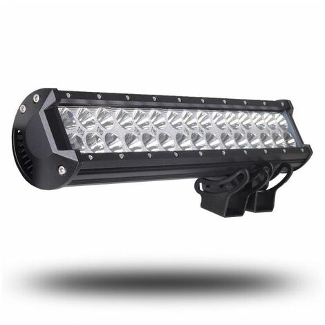Bc-elec - GLR-90WFLOOD FOCO DE TRABAJO - BARRA LED PARA 4x4, SUV, QUAD, 9-32V, 90W EQUIVALENTE 900W FLOOD - Negro