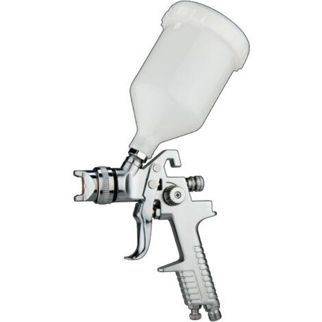 Bc-elec - H827-E Pistola de pintura HVLP con boquilla de 1,4mm, capacidad 600 ml