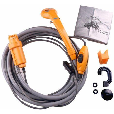 Bc-elec - HMJD014 Ducha portátil de 12V para coche, caravana, ducha de camping....