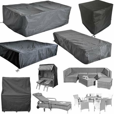 Bc-elec - HMRC-10 Protective cover for garden tables and furniture, Oxford 210D + UV treatment, 247x130x108cm