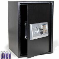 Bc-elec - HSF-50E Coffre-Fort serrure à combinaison digitale + clés 50x35x37cm