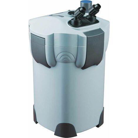 Bc-elec - HW-402B Filtre extérieur d'aquarium jusqu'à 1000l/h avec stérilisateur 9W CUV HW-402B - Gris