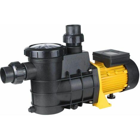 Bc-elec - HZS-550 BOMBA DE PISCINA DEPURADORA 13000L/H 550W 10M - Nero