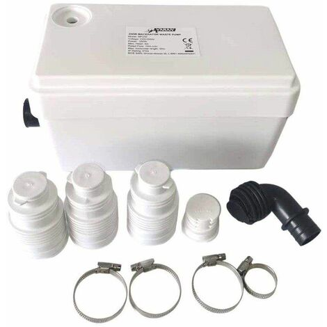 Bc-elec - MP250 Bomba de aguas residuales de 250W para la ducha, el lavabo, la bañera, la lavadora o el lavavajillas - Bianco