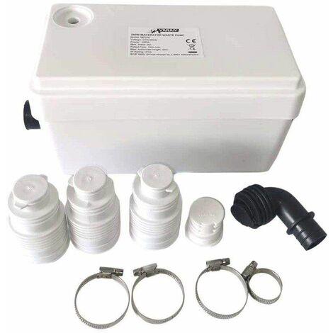 """main image of """"Bc-elec - MP250 Pompa per acque reflue 250W per doccia, lavandino, vasca da bagno, lavatrice o lavastoviglie - Blanco"""""""