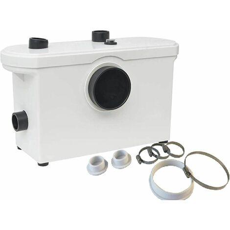 """main image of """"Bc-elec - MP600 Bomba Triturador sanitario de aguas residuales WC 600W - Blanco"""""""